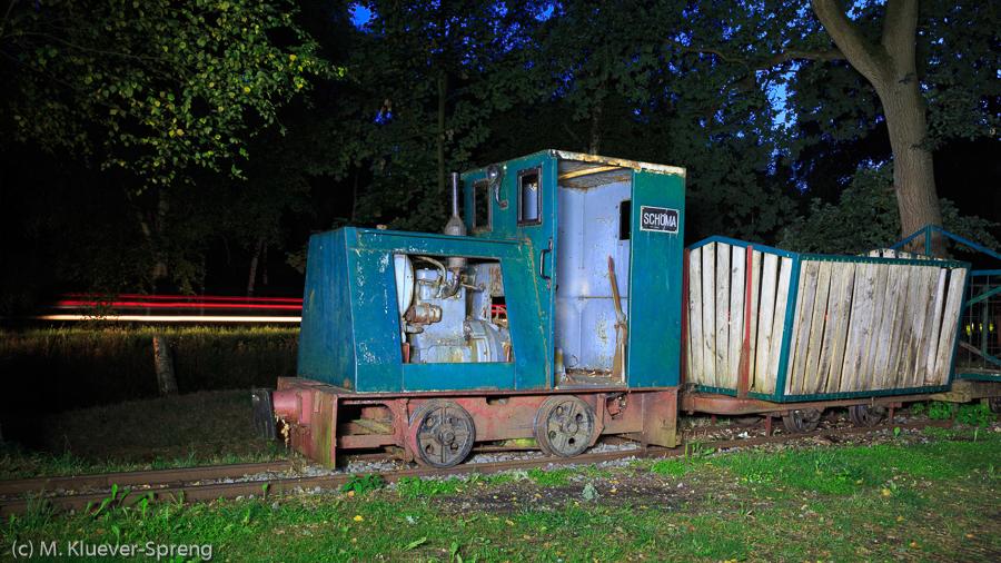 Beispielbild zur Fotoreise Lightpainting im Teufelsmoor in Worpswede