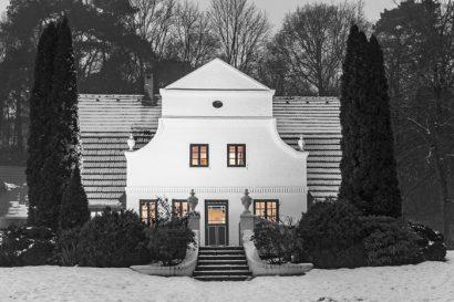 Fotoreise Winterlicht Schwarzweissfotografie in Worpswede
