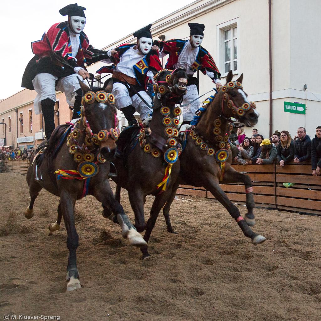 Karneval auf Sardinien - Sartiglia in Oristano
